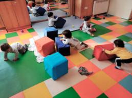 Siguiendo la dinámica de la conciliación familiar, Anaka Haur Eskola ofrece servicio de ludoteca para niños de entre 0 a 6 años.